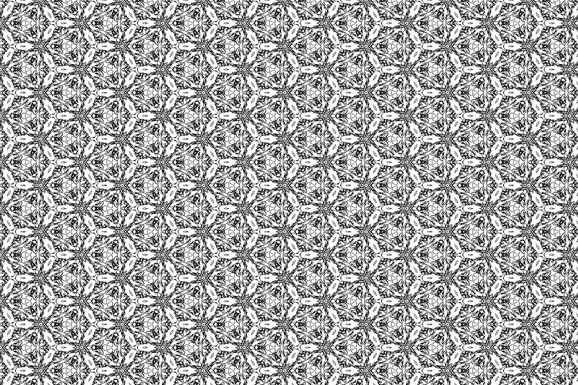 白黒パターン2
