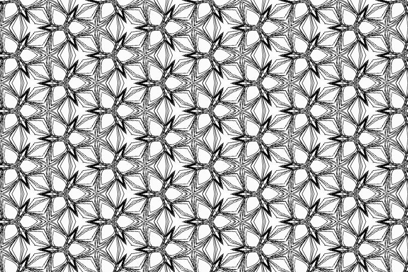 白黒パターン3