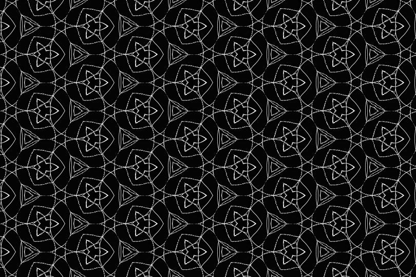 白黒パターン5