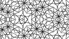 白黒パターン7