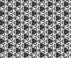 白黒パターン9