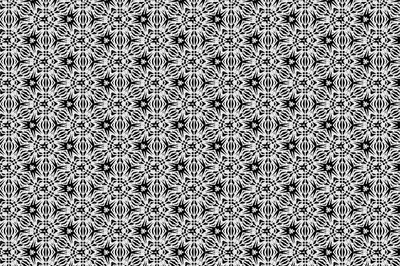 白黒パターン10