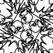 白黒パターン013