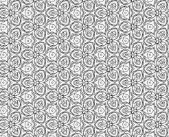 白黒パターン014