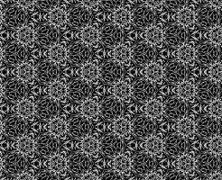 白黒パターン015