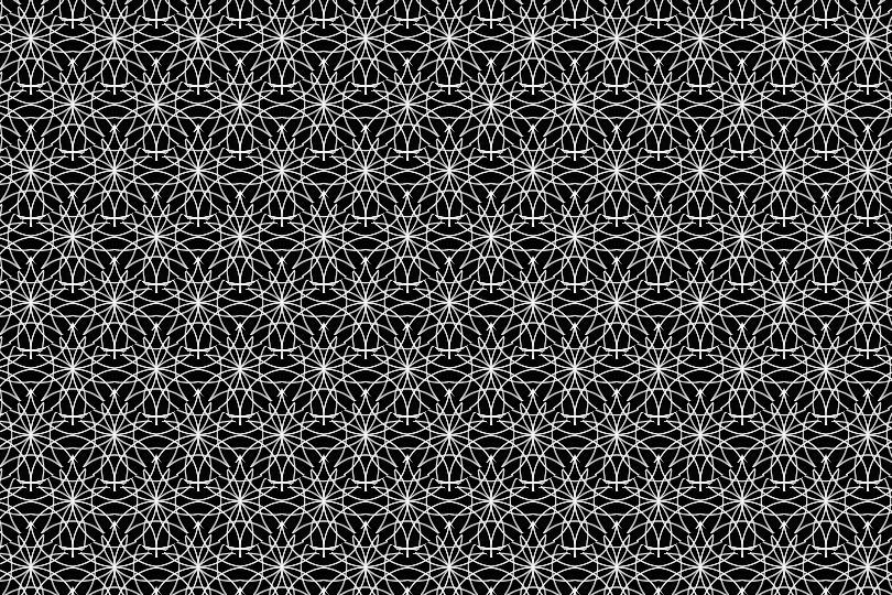 白黒パターン017