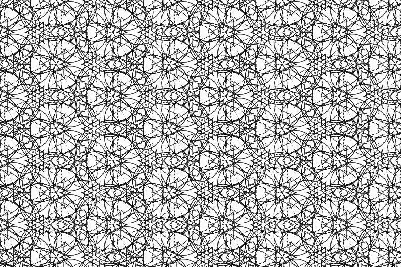 白黒パターン018