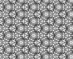 白黒パターン019