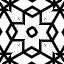 白黒パターン020