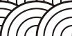 和風紋様 青海波002
