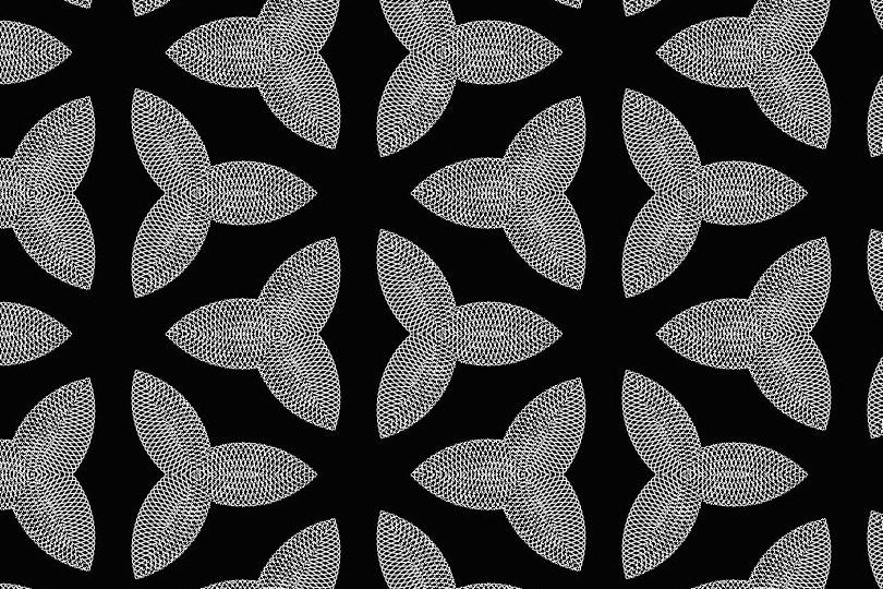 白黒パターン021
